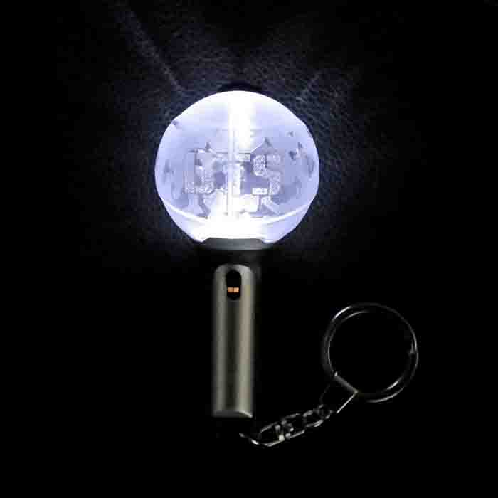 BTS X OFFICIAL LIGHT STICK KEYRING VER.2