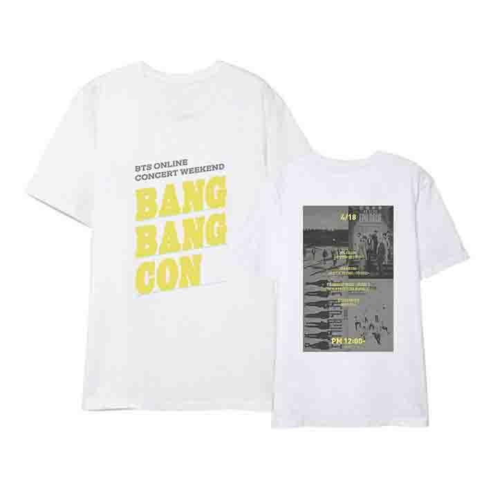 BTS X Online Concert Memorial T-shirt