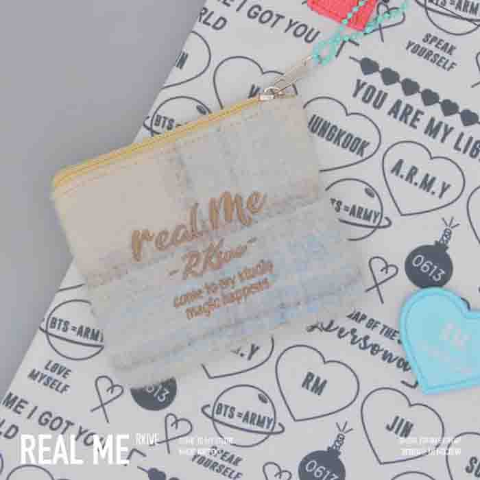 BTS X RM real me small hanging bag