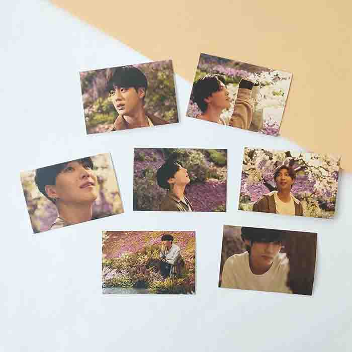 BTS X Stay Gold Lomo Card