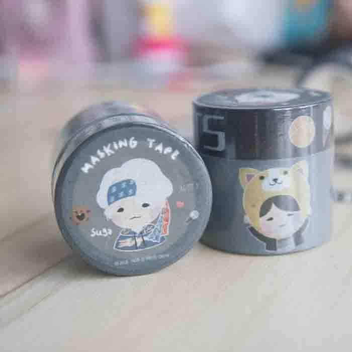 BTS X Suga Paper tape
