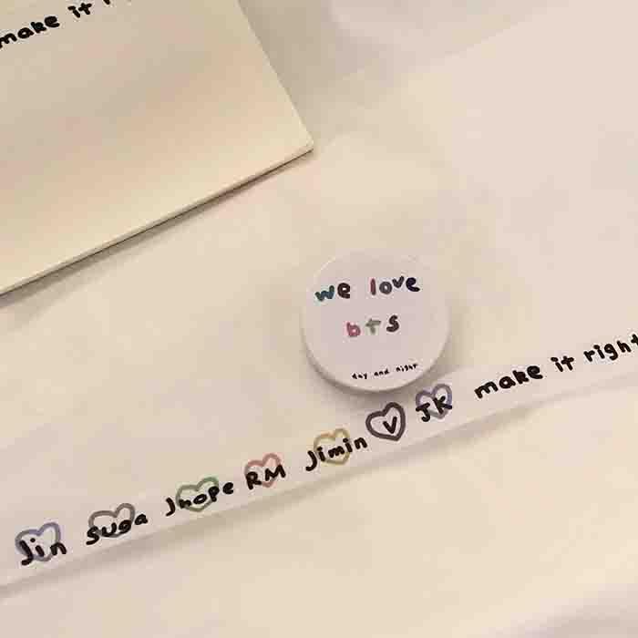 BTS X tape