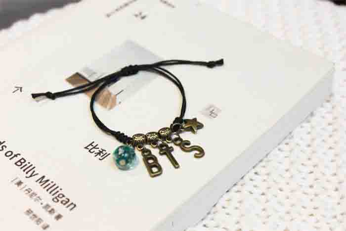 BTS X woven bracelet